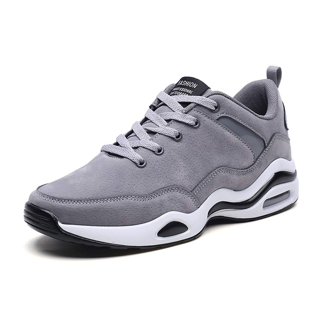 Grey Men's Sports shoes, Casual shoes Running shoes Solid color Low To Help Md Sole 39-44 Breathable, Lightweight, Wear-resistant