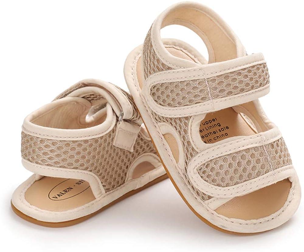 Sandalias Beb/é Ni/ño Verano Zapatos Reci/én Nacido Plano Casual Comodas Goma Antideslizante