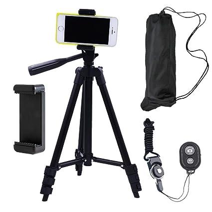 Amazon.com: DAISEN Camera Tripod, 42 inch Aluminum Phone Tripod ...