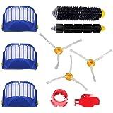 GHB Ersatzteile für iRobot Roomba 600 Serie Wartungskit Reinigungskit für 650 620 651 621 615 616 605 10er Kits (Verpackung MEHRWEG)
