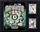 MLB Oakland Athletics 12x15-Inch All Time Greats Photo Plaque