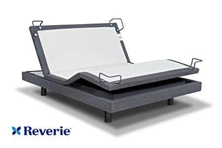 amazoncom reverie 7s adjustable bed from the makers of the tempurpedic ergo w bluetooth option queen with bluetooth home u0026 kitchen - Best Adjustable Beds