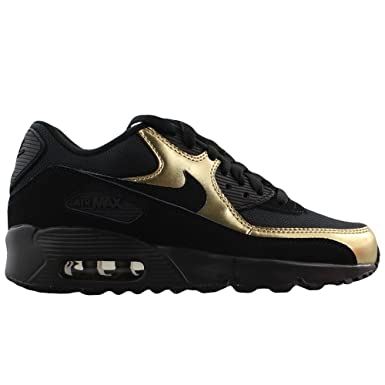 Juniors Girls Nike Air Max 90 Mesh (GS) Trainers 833418 013 UK 4.5 EUR 37.5  US 5Y  Amazon.co.uk  Clothing ae34ac785f3ad