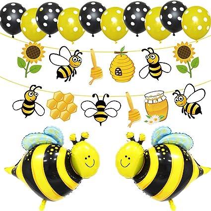 Amazon.com: LetDec Guirnalda de abejas, abeja/abeja de miel ...