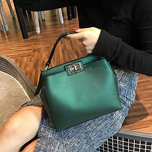 Verde Telefono Del Donne Le Pelle ✦jiameng Borsa Tote Tracolla Bag Moda In CTBqgxpg