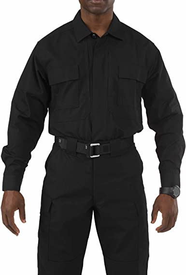 5.11 Tactical #72054 Taclite TDU Camisa de Manga Larga ...