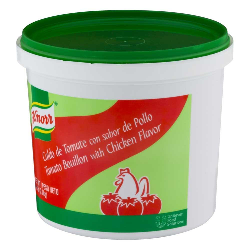 Knorr Caldo de Tomate Tomato Bouillon, 4.4 pound - 4 Per Case