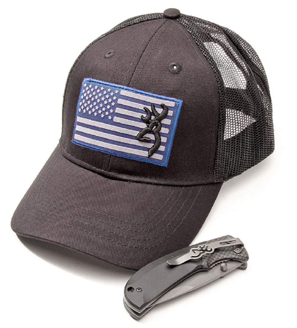Browning Cap Knife Combo Blue, One Size by Browning