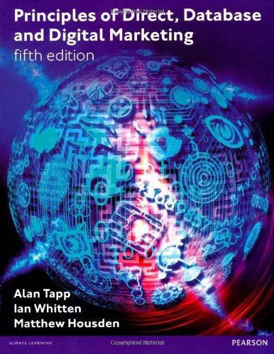 Principles of Direct Database & Digital Marketing