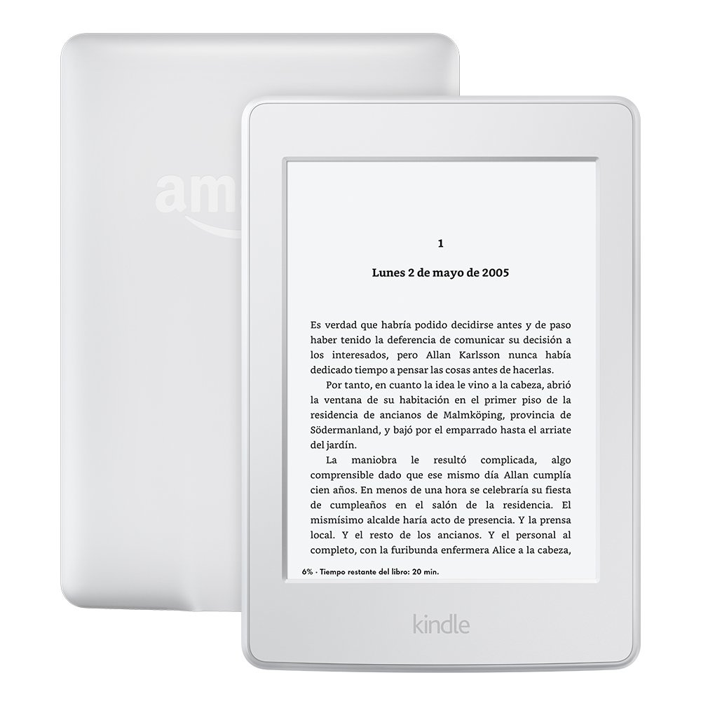 "E-reader Kindle Paperwhite, pantalla de 6"" de alta resolución"