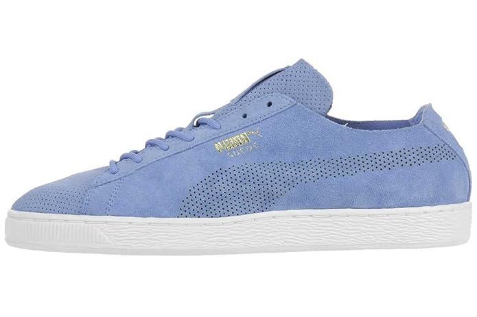 PUMA SUEDE CLASSIC Deconstruct Herren Sneaker Schuhe Leder babyblau 356192 08