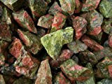 Fantasia Materials: 18 lbs Unakite Mine Run Rough - Raw Natural Crystals for Cabbing, Cutting, Lapidary, Tumbling, Polishing, Wire Wrapping, Wicca and Reiki Crystal Healing *Wholesale Lot*
