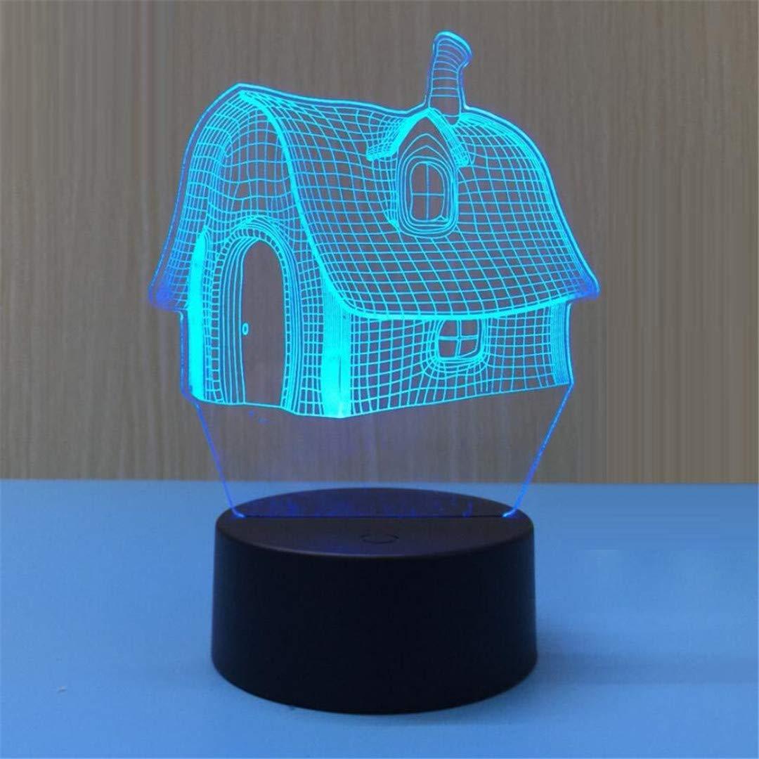 MTX Ltd Nachtlicht Kreative Nachttischlampe Einfache Schlafzimmer Kreative Nachtlicht LED Touch Cartoon Traum Moderne Nordische Nachtlicht