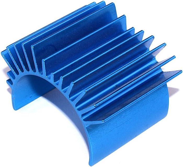 Duisger 1 pcs Accessoire Bleu en Aluminium Chaleur Si/ège Radiateur Refroidisseur pour 540//550 Moteur RC Voiture