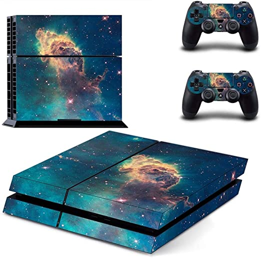 YISHO PS4 Skin Stickers For Playstation 4 Console Controllers ...