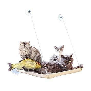 hamaca para gatos gato ventana pared balda cama cat bed colchón de la perca que cuelga