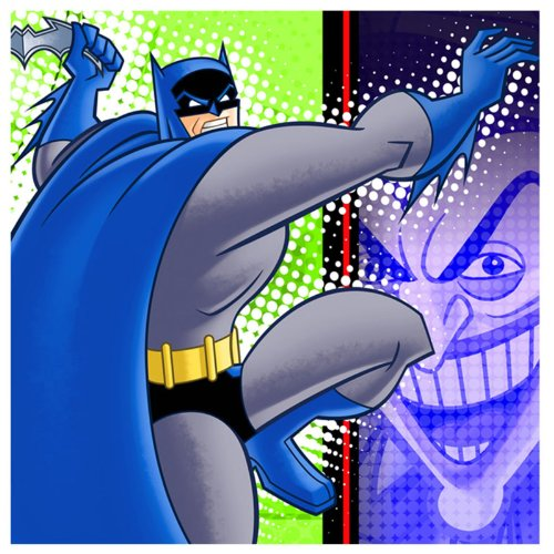 Hallmark Cards, Inc.-Batman: The Brave and The Bold Napkins (Joker Party Supply Inc)