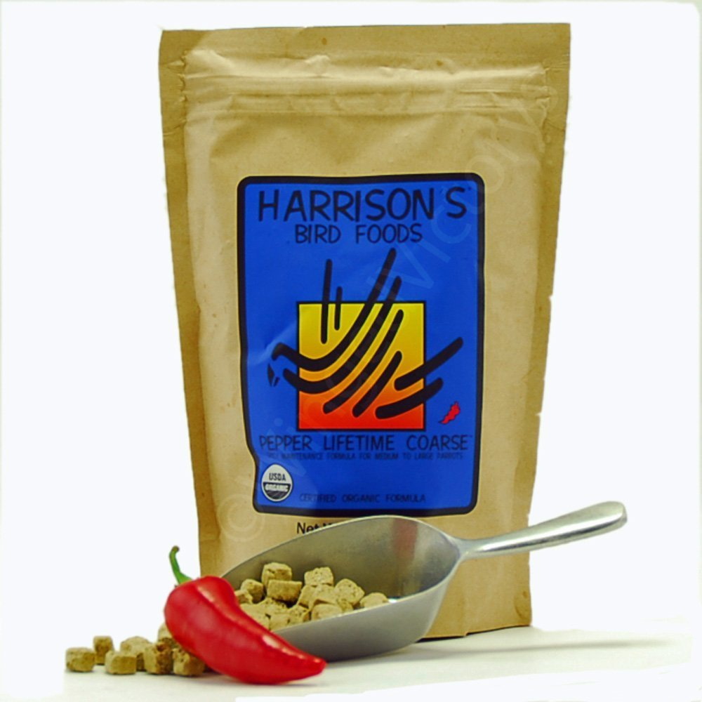 Harrison's Organic Pepper Lifetime Coarse Bird Pellets 25 Lbs by Harrison's Bird Foods