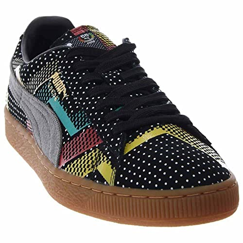 dc2986c8689 Puma Suede BHM Statement Black High Risk Red Gum Size 9. 5  Buy Online at  Low Prices in India - Amazon.in