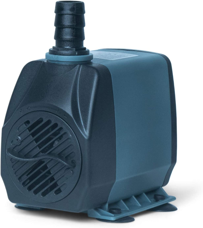 Holinpump Water Pump Adjustable Submersible Internal Aquarium Powerhead Water Pump Ultra Quiet for Aquarium,Fish Tank