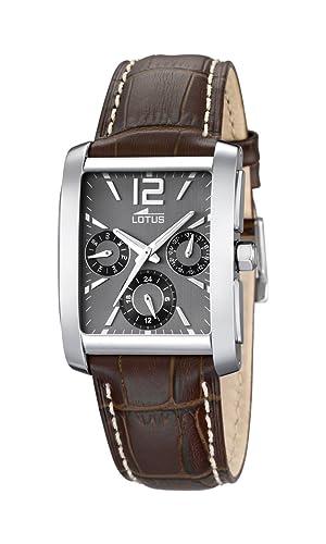2de87fbf825c Lotus 15387 Q - Reloj analógico de Cuarzo para Hombre