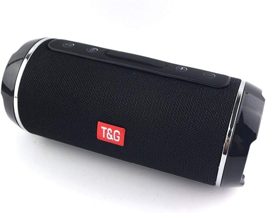 Digitalkey TG116 Altavoz inalámbrico Bluetooth portátil y splashproof - Negro
