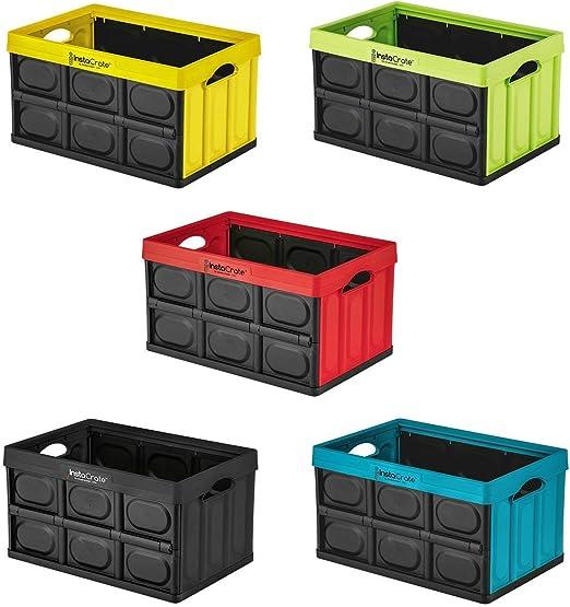 T&B Caja Plegable de 46 litros, Ideal para Guardar Cosas, se Puede ...