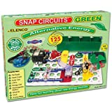 Snap Circuits 125 Exciting Project Green Alternative Energy Set - Includes 100 Bonus Markers!