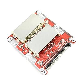 Huimai Dual CF Compact Flash DE 2.5 44 pinos IDE SSD Unidad de ...