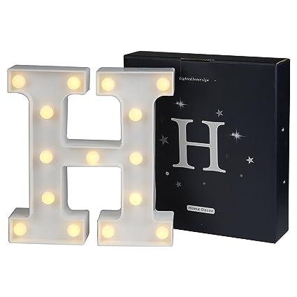 cbe2cb858bf Amazon.com  SDOUBLEM LED Marquee Letter Lights Alphabet Light Up ...