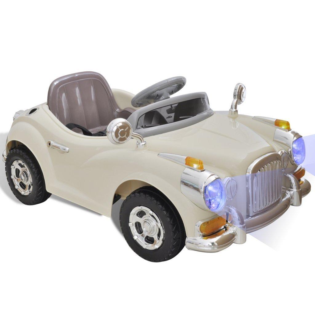 Kinder Elektroauto Oldtimer - vidaXL Elektroauto Beige
