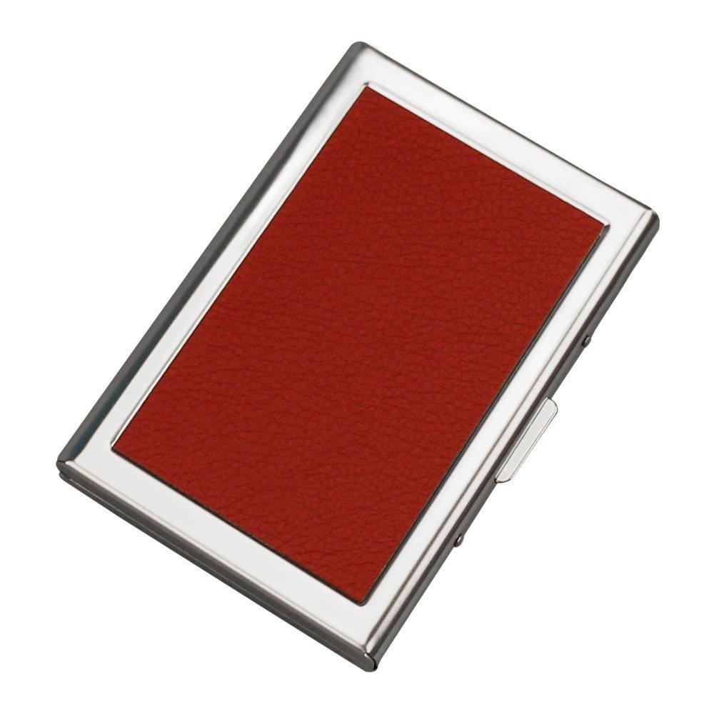 URAQT Porte-Carte de Crédit/Visite/Porte Monnaie/RFID Lutte Contre Criminel de Scanning - Cool Etui de Carte de Visite Slim Métal- Porte-Carte de vsite 1 Pcs