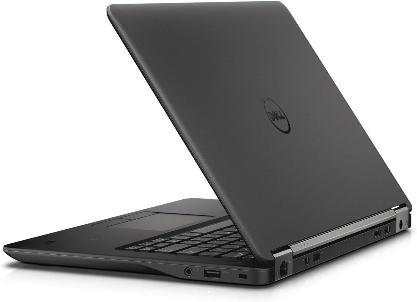"Dell Latitude E7270 Intel Core i5-6300U X2 2.4GHz 8GB 180GB SSD 12.5"",Black(Certified Refurbished)"