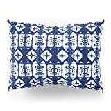 Society6 Indigo Shibori Windows Pillow Sham Standard (20'' x 26'') Set of 2
