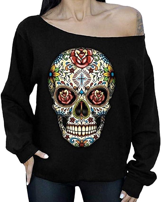 Acheter pull femme tete de mort online 4