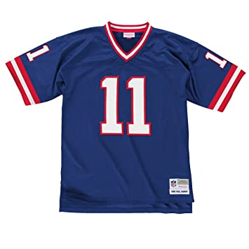 super popular 9f85d bb75f Amazon.com : New York Giants Phil Simms Premier Throwback ...