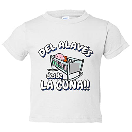 Camiseta niño del Alavés desde la cuna fútbol - Azul Royal, 3-4 años: Amazon.es: Bebé