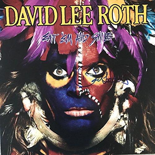 David Lee Roth signed LP album ()