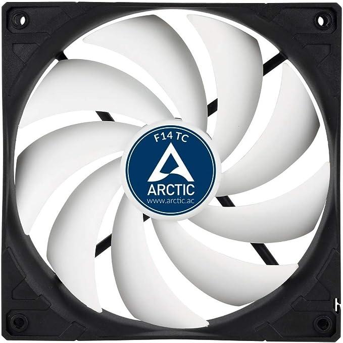 ARCTIC F14 TC – 140 mm Ventilador de Caja para CPU con Control de ...