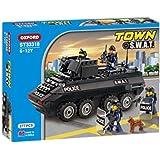 Oxford Town SWAT Blindé # ST33318 Ensemble de construction 277pcs (6 à 12 ans)