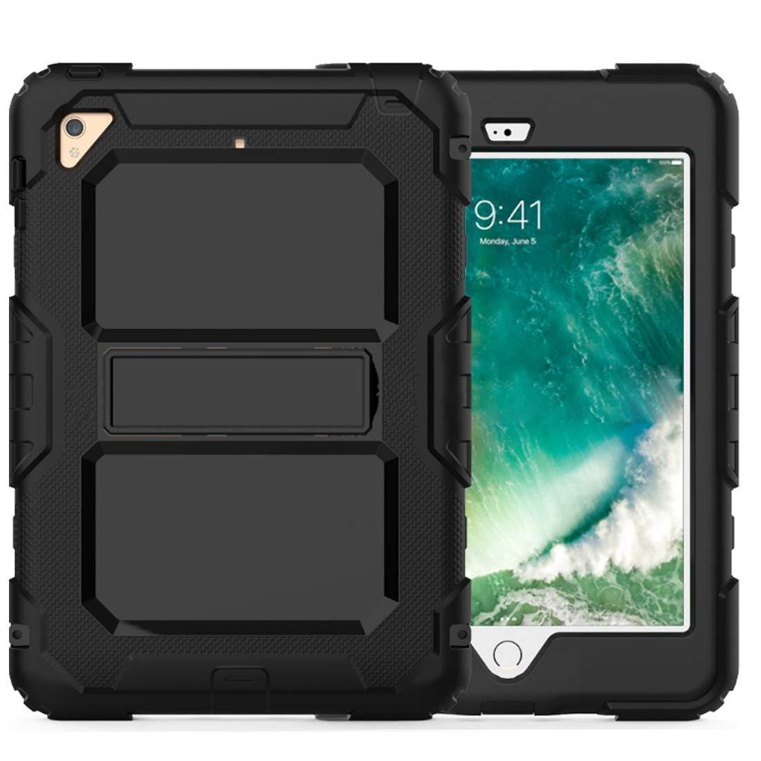 特別セーフ KRPENRIO iPad 9.7ケース 2018 2018/2017/2017 iPad 高耐久 Mini対応 KRPENRIO 高耐久 フルボディ 頑丈 保護ケース スクリーンプロテクター内蔵 (カラー:ブラック サイズ:2018 iPad9.7) B07L88ZJFS, 玖珠郡:842a9029 --- a0267596.xsph.ru