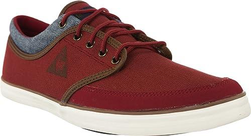 Le Coq Sportif - Zapatillas Hombre , color Rojo, talla 42: Amazon.es: Zapatos y complementos