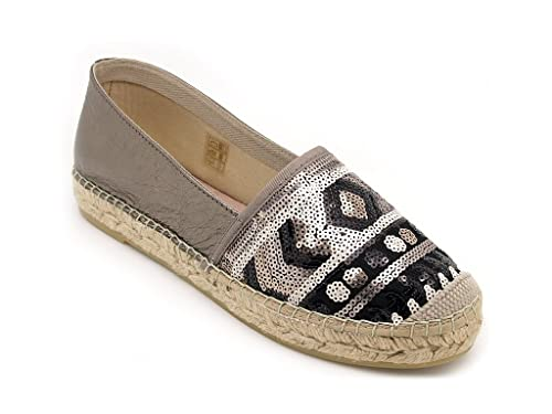 Vidorreta - Alpargatas para mujer Dorado Size: 38: Amazon.es: Zapatos y complementos