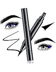 Eyeliner Stamp – Beyond Eyeliner Stamp Wingliner, Waterproof Make Up, Smudgeproof, Winged Long Lasting Liquid Eye liner Pen, Black