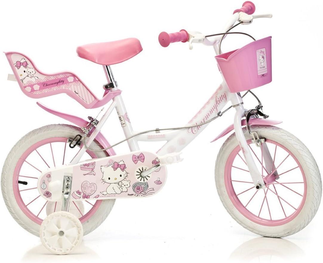 Dino Bikes - Bicicleta Infantil (neumáticos de 14
