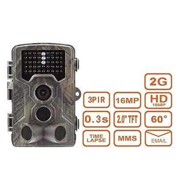 WETERS Cámara De La Caza del Campo del Sensor Infrarrojo Impermeable IP65 De La Caza 16MP