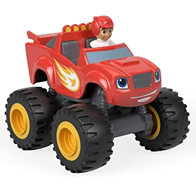 Fisher-Price Nickelodeon Blaze & The Monster Machines, Blaze & Aj Die-Cast, Multicolor: Toys & Games