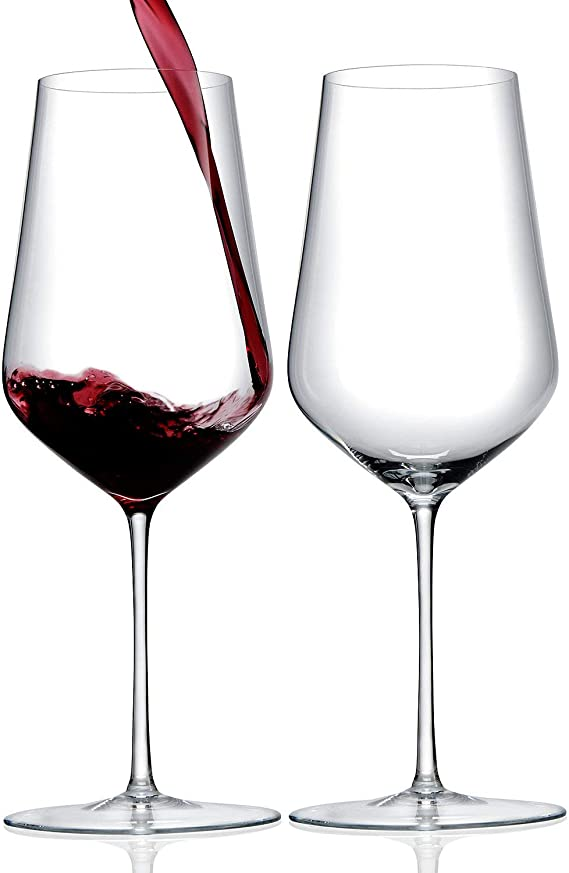 ZENOLOGY by Wine Enthusiast – 23oz Cabernet Sauvignon Stemmed Wine Glasses - Set of 2