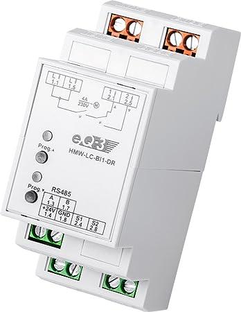 Homematic Wired Rs485 Rollladenaktor 1 Fach Hutschienenmontage Baumarkt