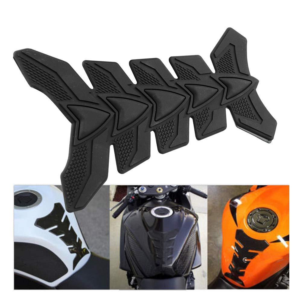 1PCS Olio Adesivo Moto 3D decalcomanie del gas del serbatoio di combustibile della protezione del rilievo per Suzuki Yamaha Honda Kawasaki Harley